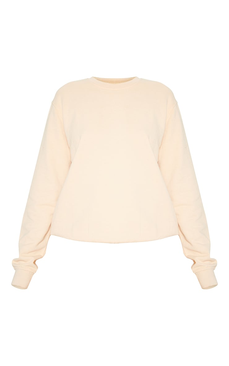 Fawn Washed Ultimate Sweater 3