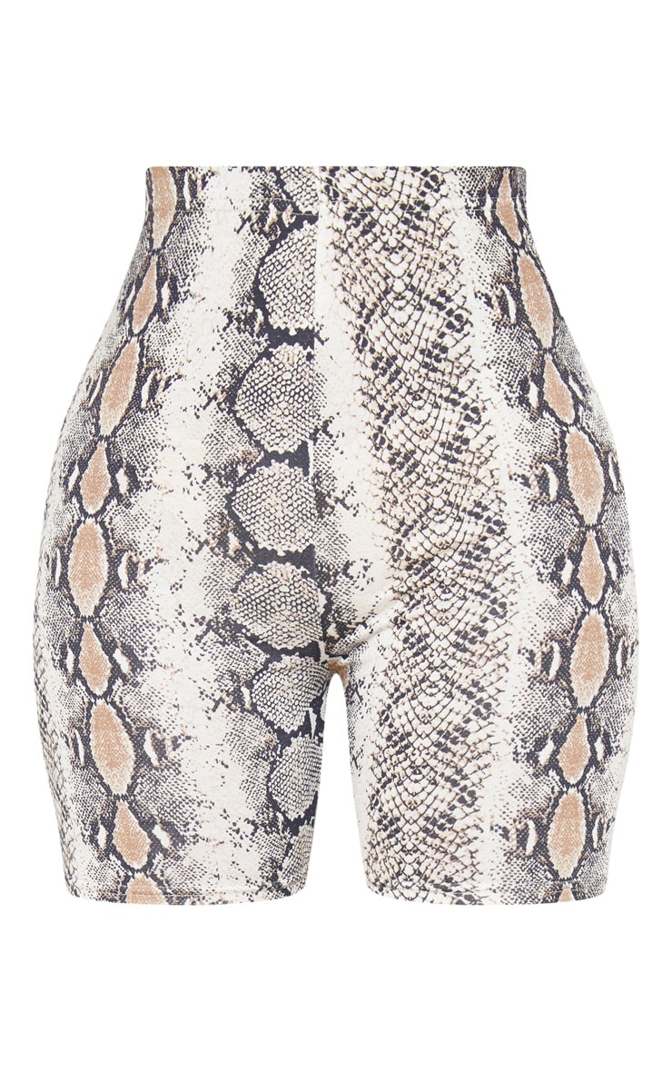 Shape Taupe Snake Jersey bike Shorts 3