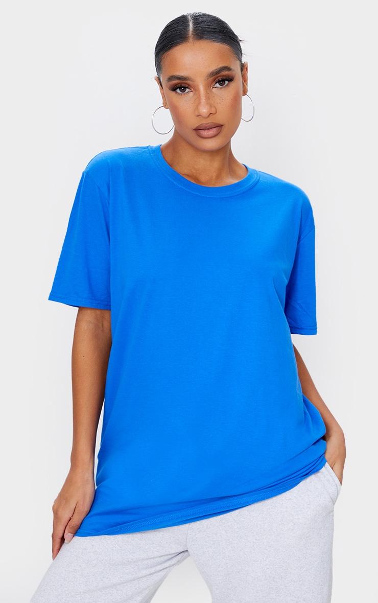 Royal Blue Sports Club Back Printed T Shirt 2
