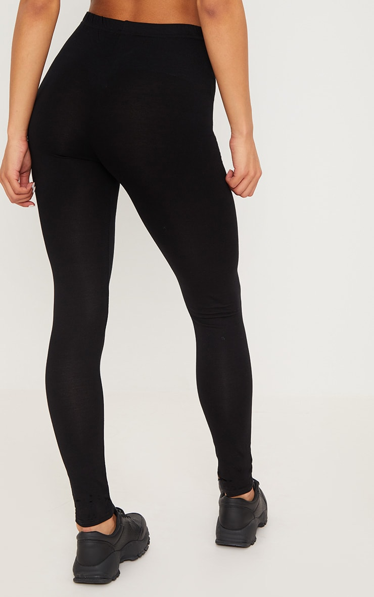 Black and Grey Basic Jersey Legging 2 Pack 5