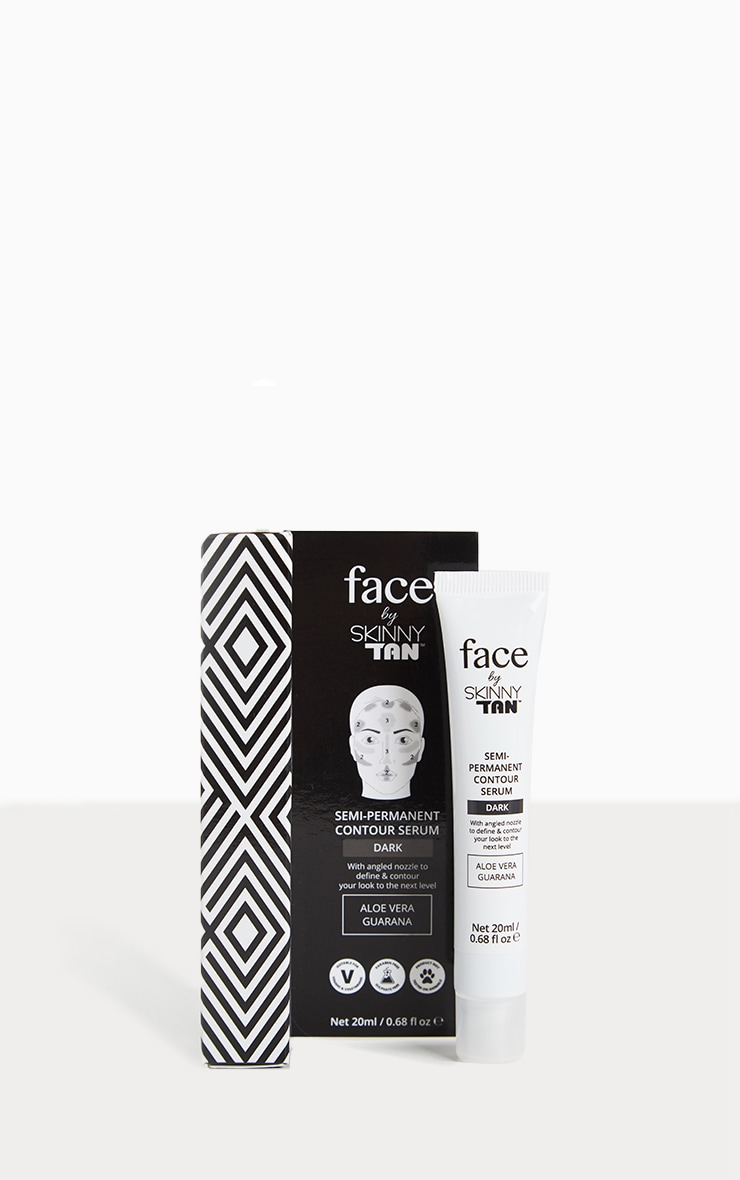 Face By Skinny Tan Dark Contouring Serum 1