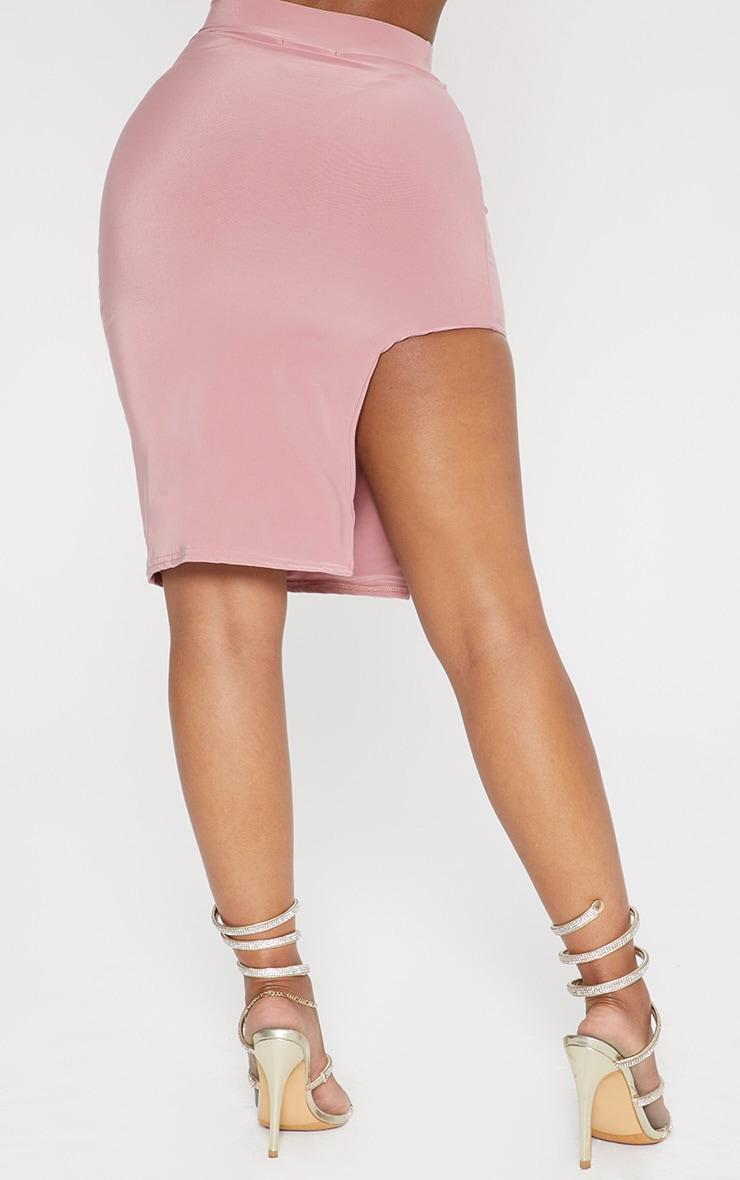 Shape Rose Extreme Split Bodycon Skirt 4