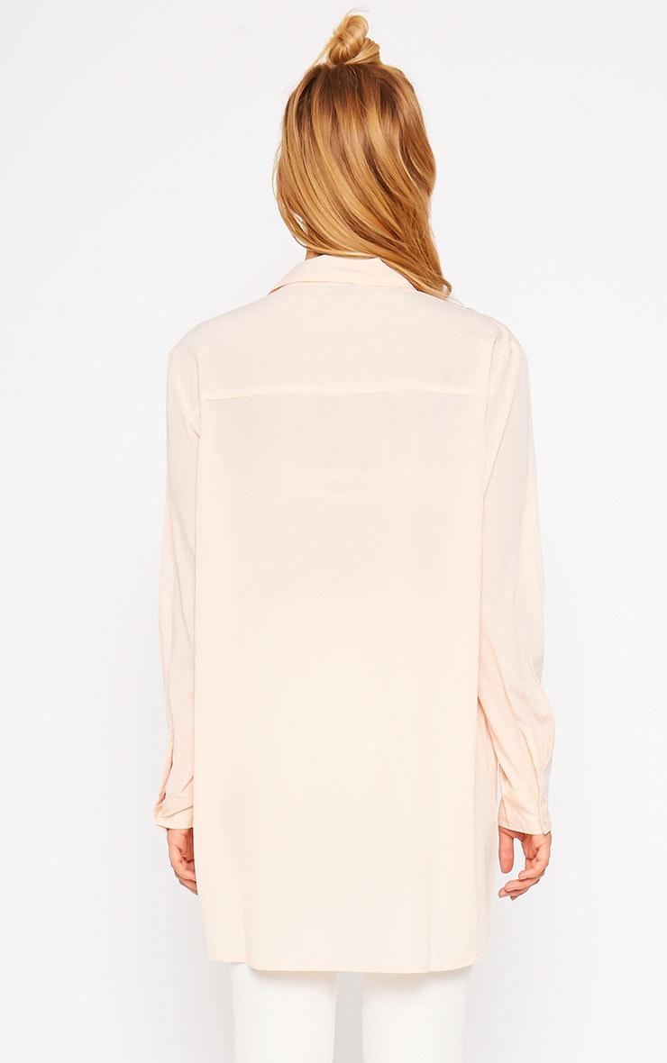 Effie Pink Longline Shirt 2