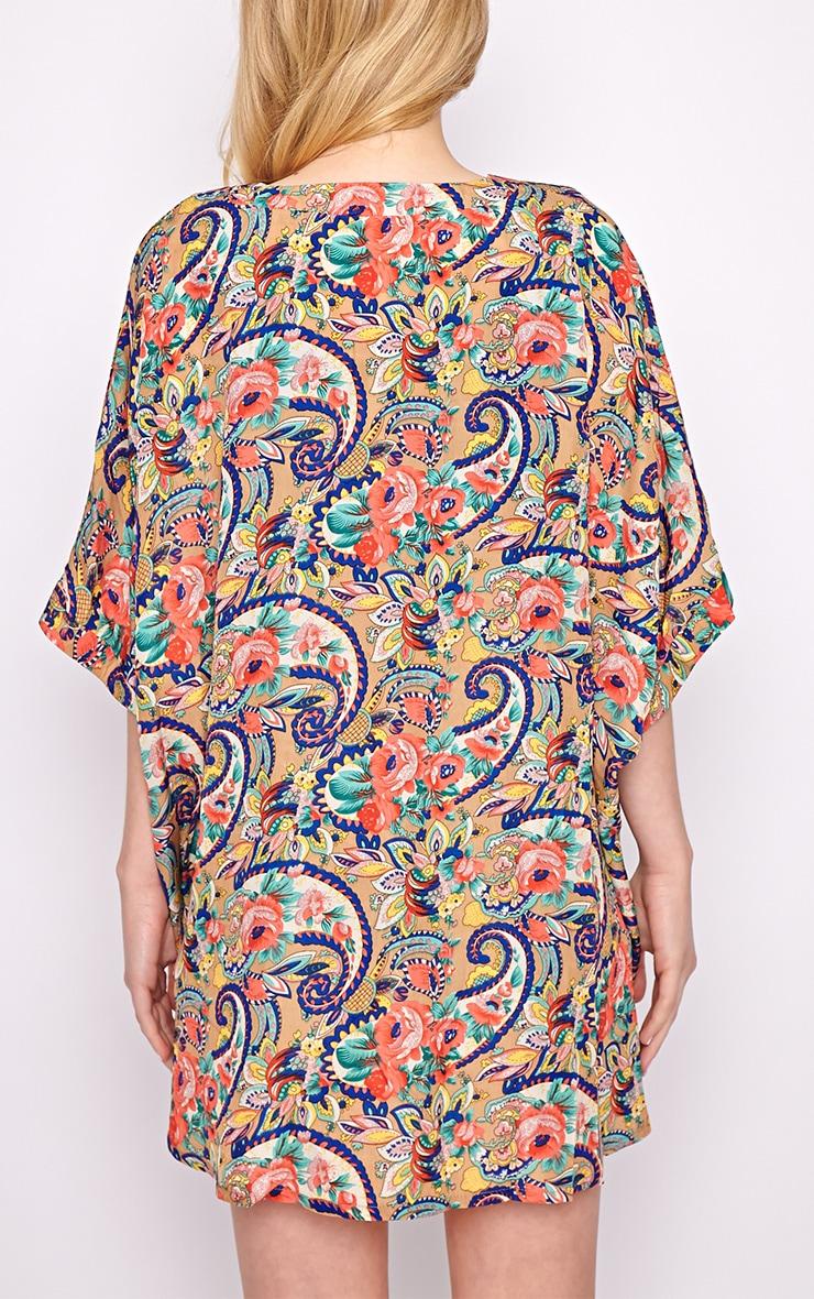 Isla Paisley Print Kimono 2