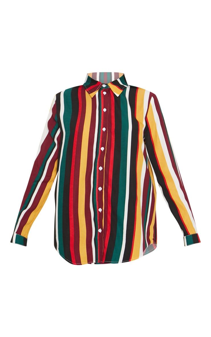 Chemise multicolore à rayures 3
