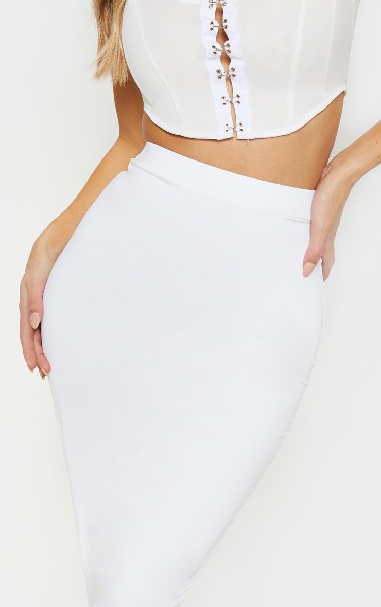 White Midi Skirt 5