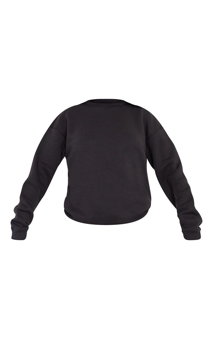 Tall Black Ultimate Oversized Sweatshirt 5