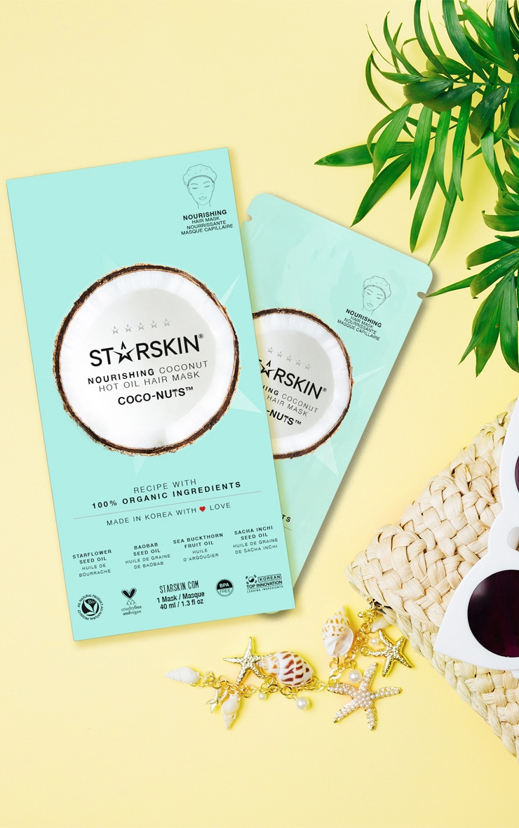 Starskin Coco Nuts Nourishing Hot Oil Hair Mask
