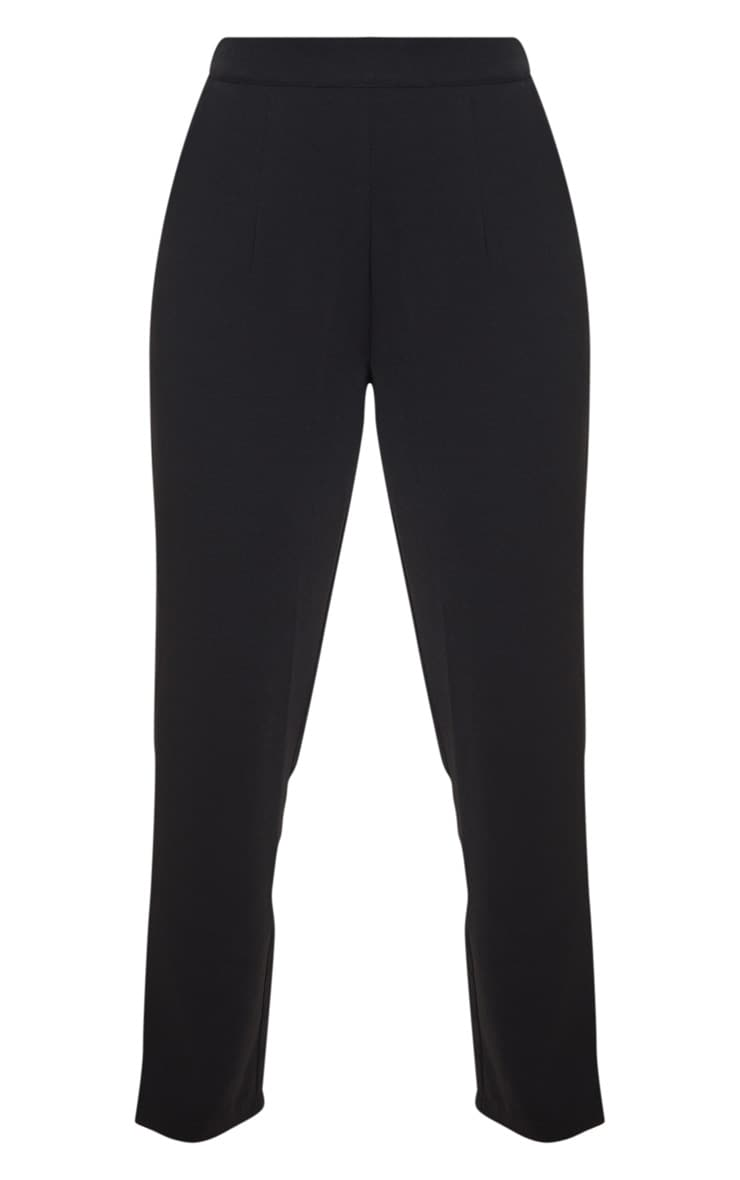 Petite Black Tailored Pants  3