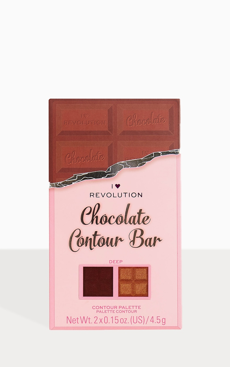 I Heart Revolution Chocolate Contour Palette Dark 2