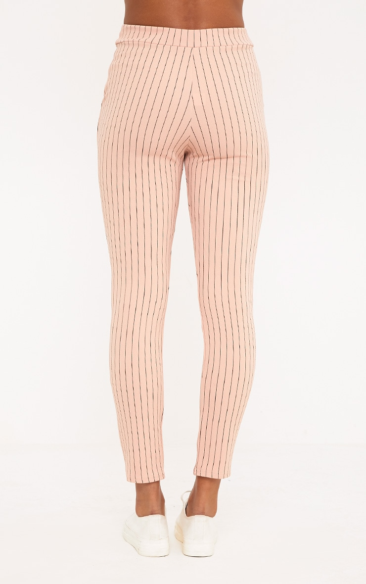 Sage Blush Stripe Pants 2