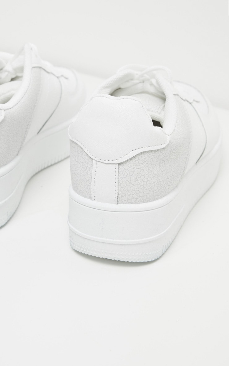 White Air Hole 90s Sneakers 4
