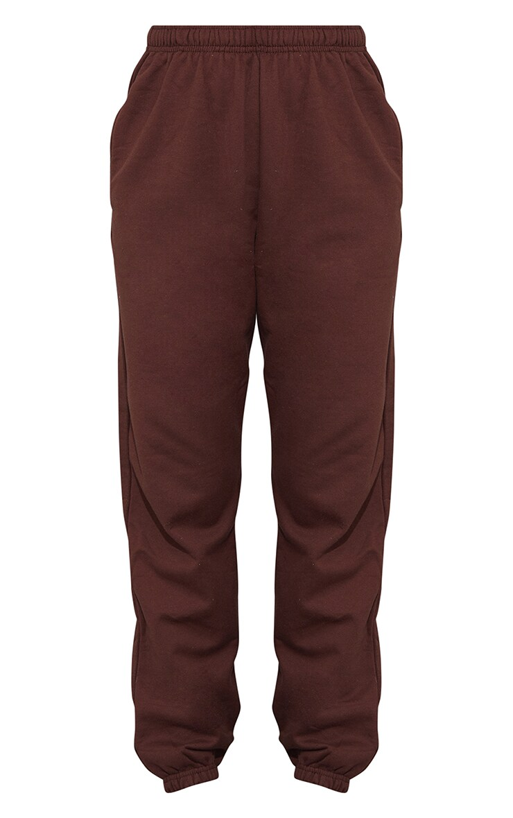 Pantalon de jogging marron chocolat casual 5