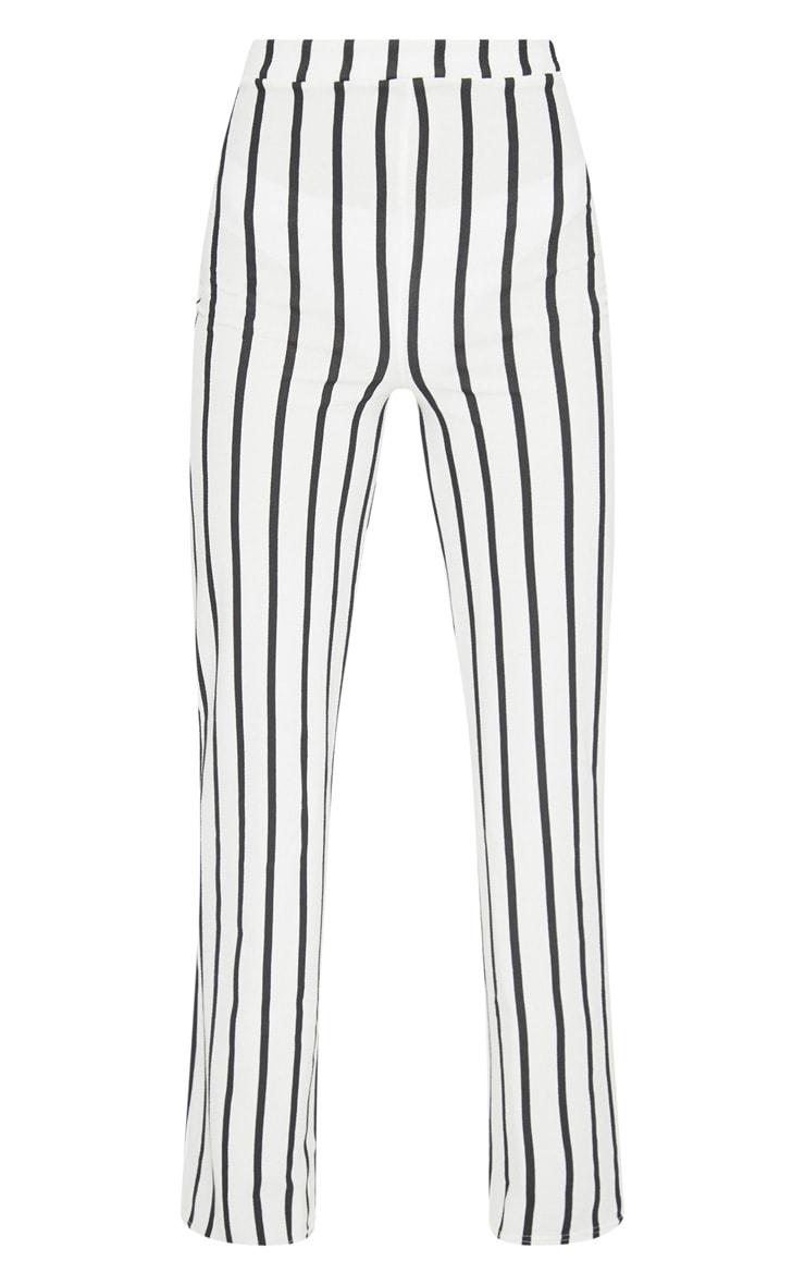 White Striped Pants  2