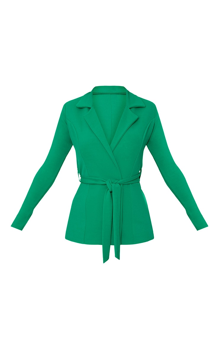 Green Belted Blazer 3
