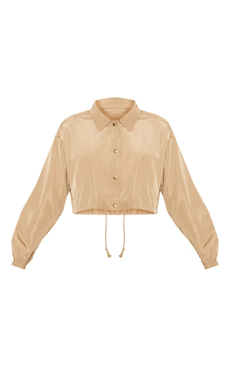 Camel  Shell Suit Jacket  3