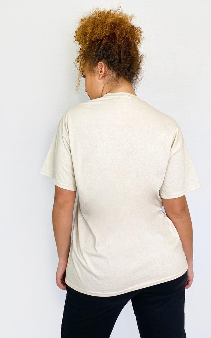Plus Stone Positive Mood Slogan T Shirt 2