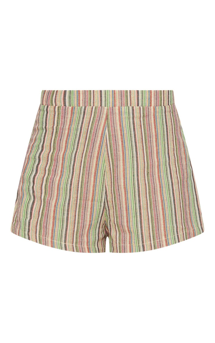 Petite line Striped Shorts 3