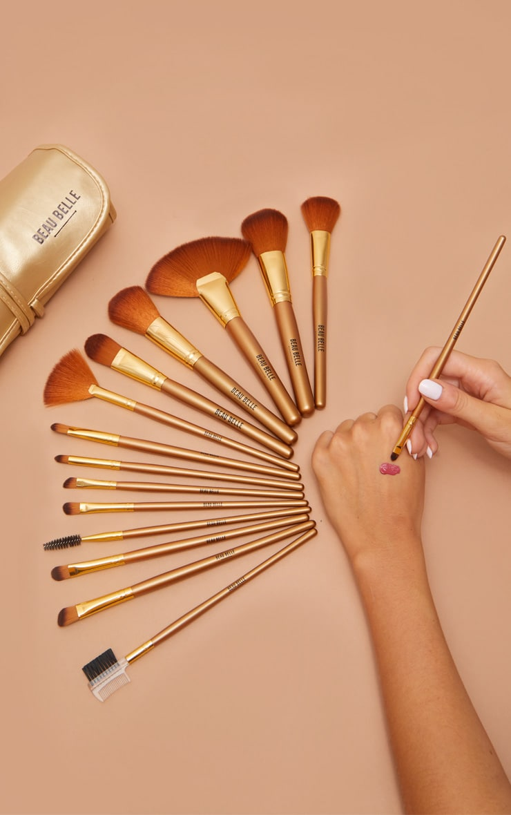 Beau Belle Brushes 21 Piece Gold Set 1