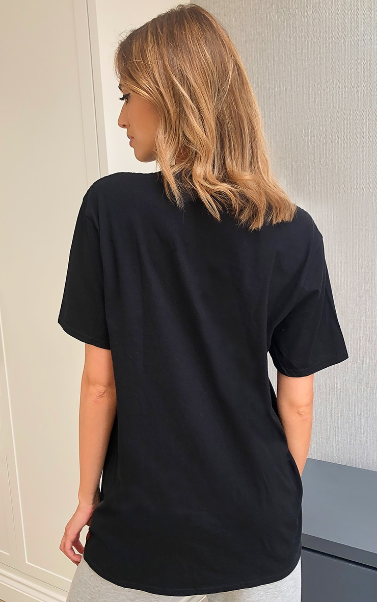 PRETTYLITTLETHING Black Official T Shirt 2