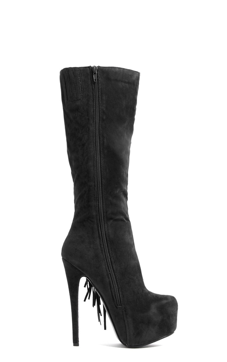 Cierra Knee Length Tassel Boot 2