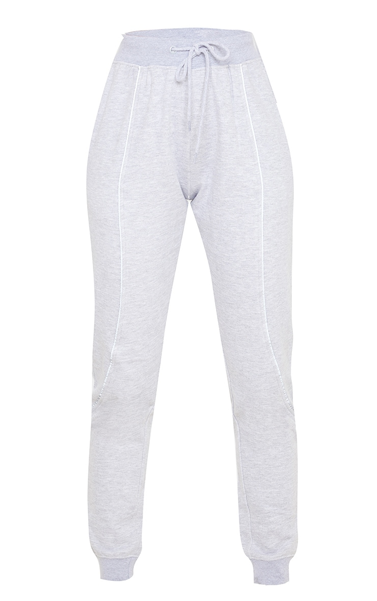 Grey Reflective Contrast Binding Jogger 3