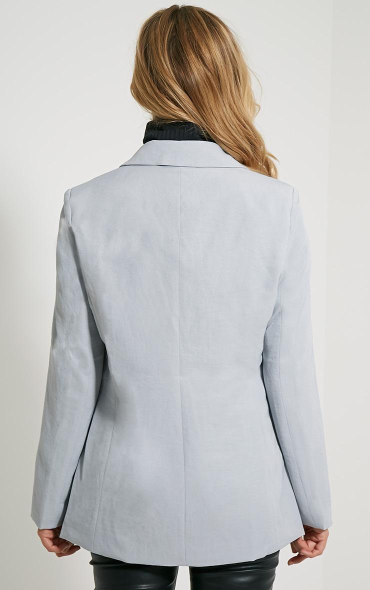 Tamu Grey Tailored Blazer 2