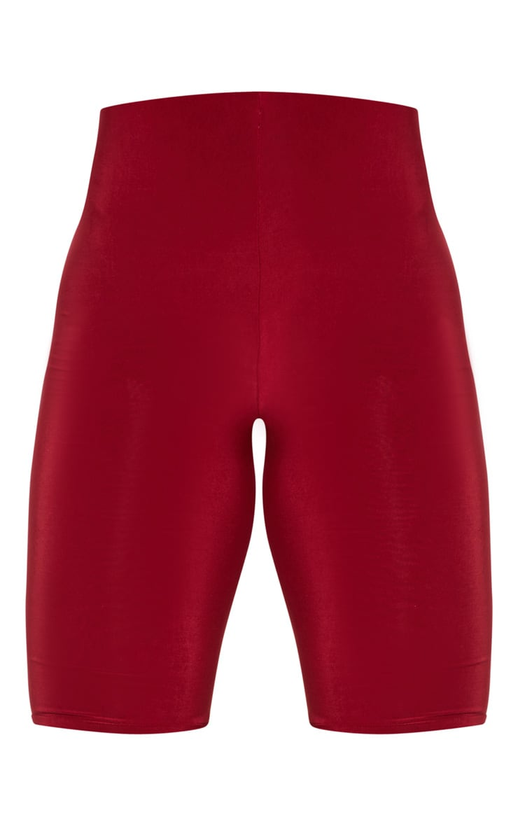 Short-legging slinky long rouge écarlate 3