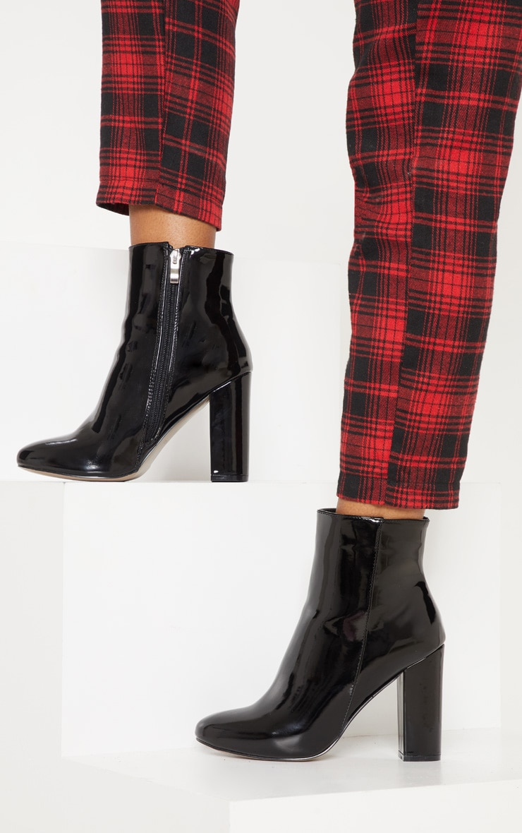 Black Patent Behati Ankle Boot