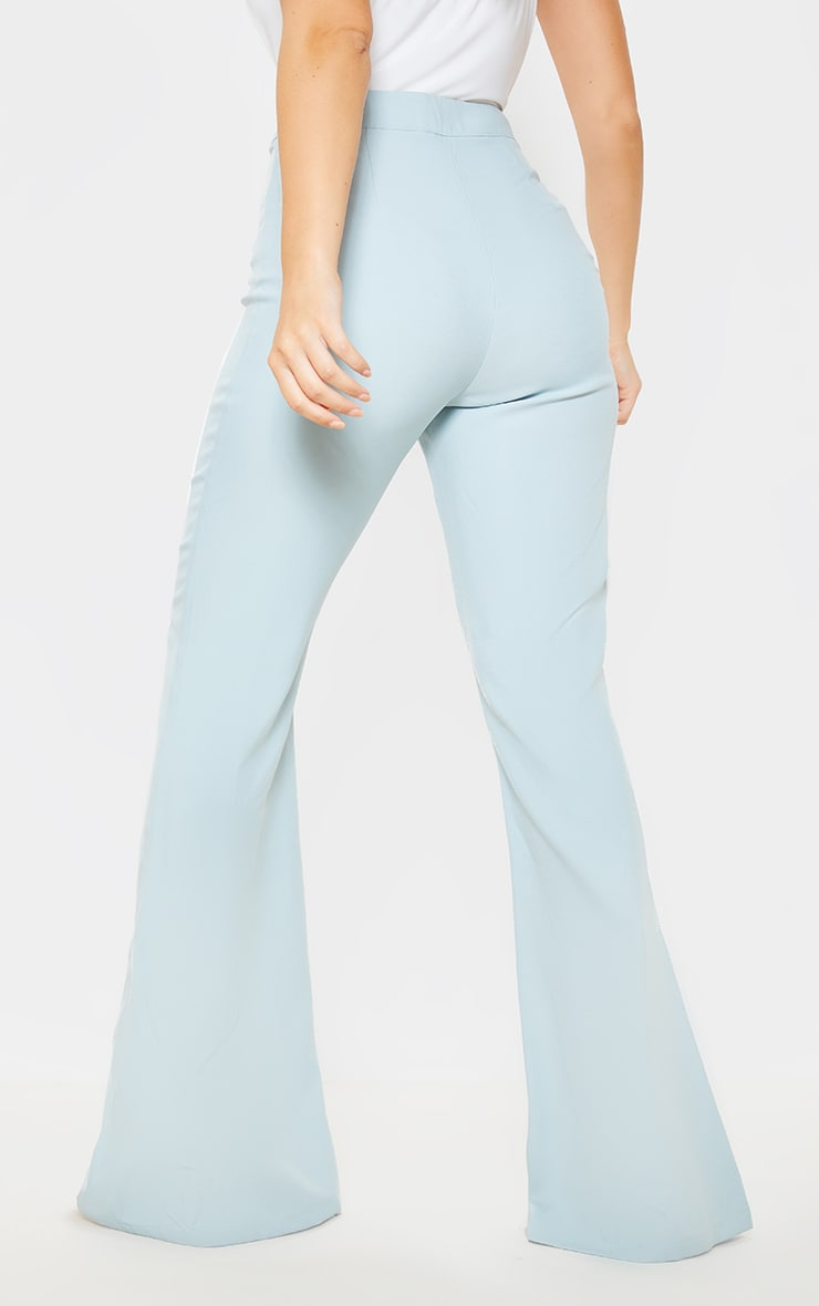 Mint Wide Legged Suit Trouser  4