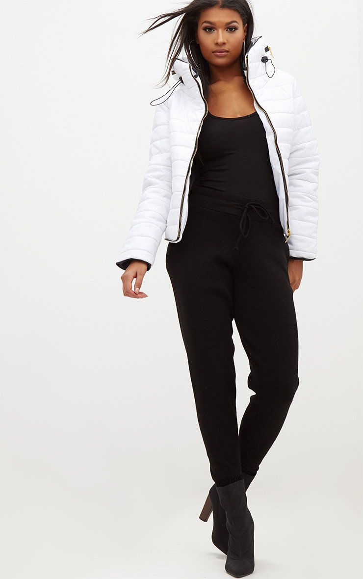 Mara White Puffer Jacket 4