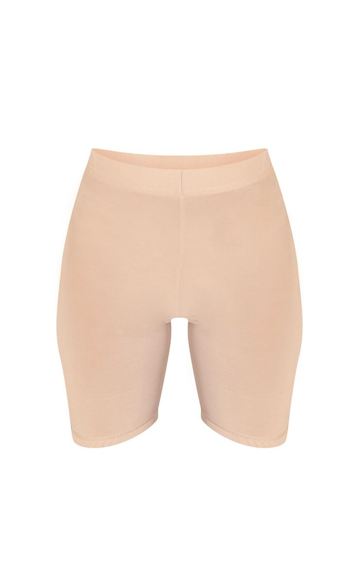 PLT Seconde Peau - Short de lingerie en mesh vanille à taille haute 6