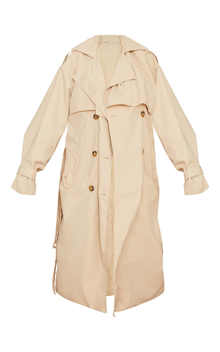 Tall Stone Oversized Belted Midi Trench 5