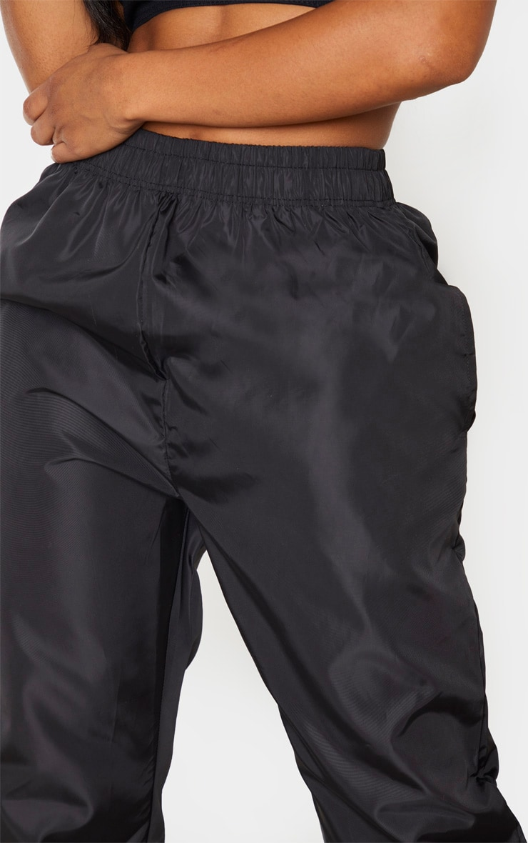 Shape Black High Waist Shell Jogger 5