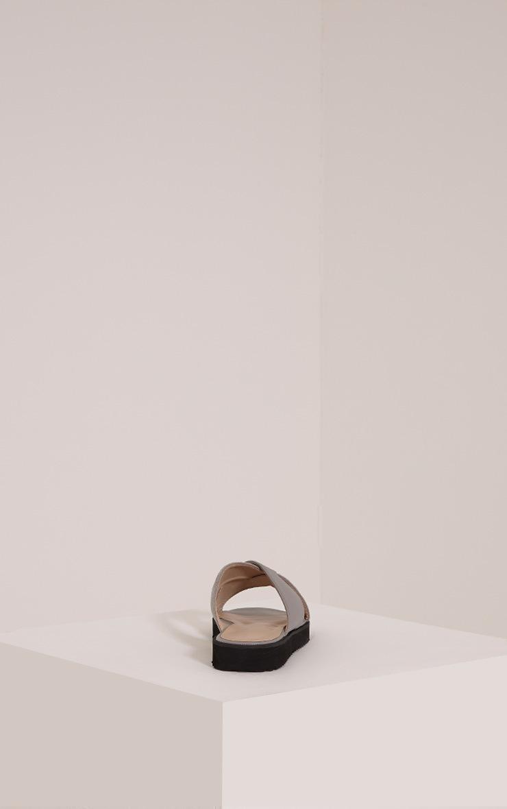 Aalia Grey Stud Detail Sliders 4