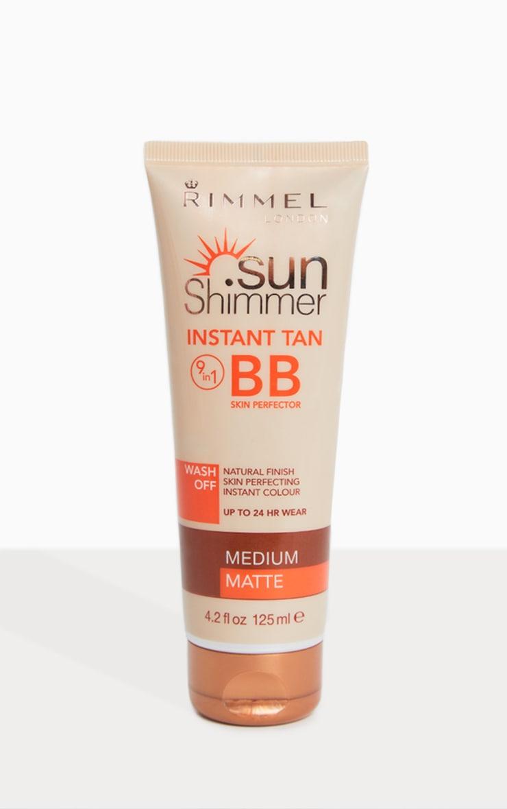 rimmel sunshimmer instant tan medium matte bb cream
