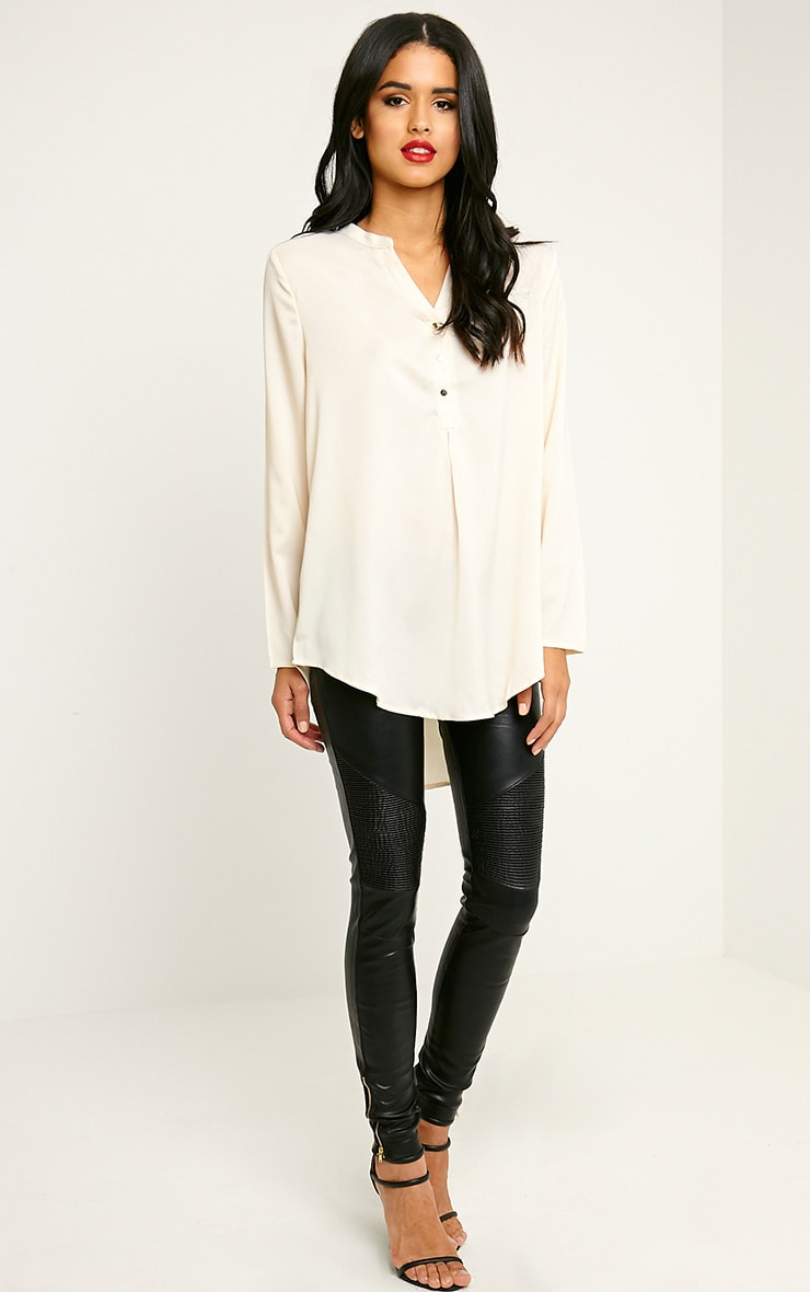 Caia Cream Oversized Shirt 3