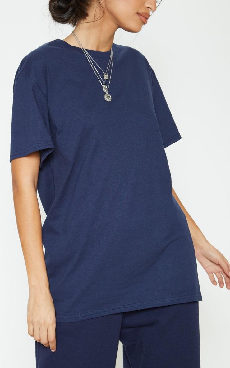 Navy Boyfriend T Shirt 5