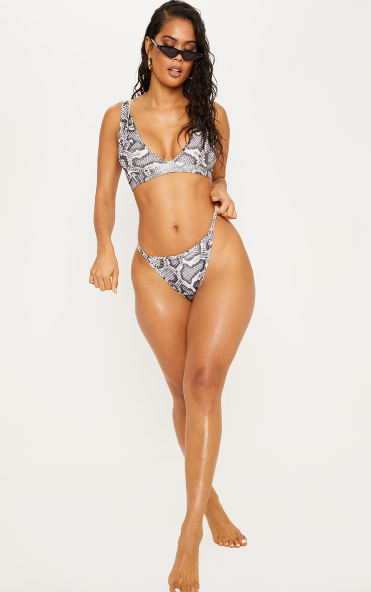 Snake Mix & Match Itsy Bitsy Bikini Bottom 5