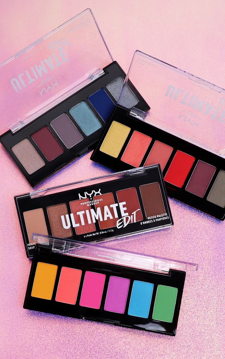 NYX Professional Makeup Ultimate Edit Petite Shadow Palette Phoenix 5