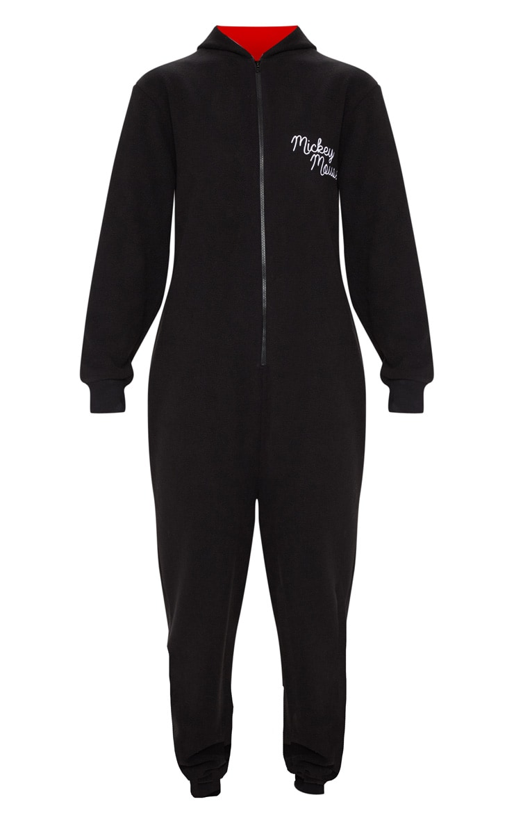 Black Disney Mickey Mouse Onesie 3