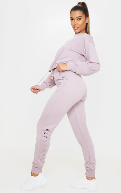 PRETTYLITTLETHING Mauve Basic Gym Sweat Jogger