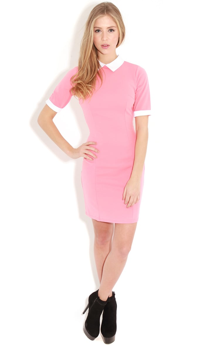 Eileen Coral Collar Dress 3