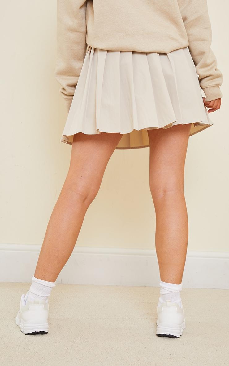 Stone Peached Skater Skirt 3