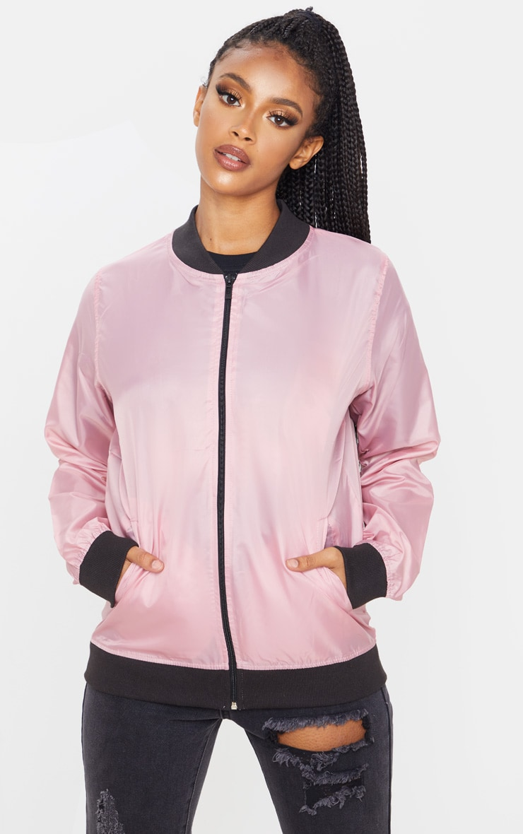 Rose Lightweight Bomber Jacket 4