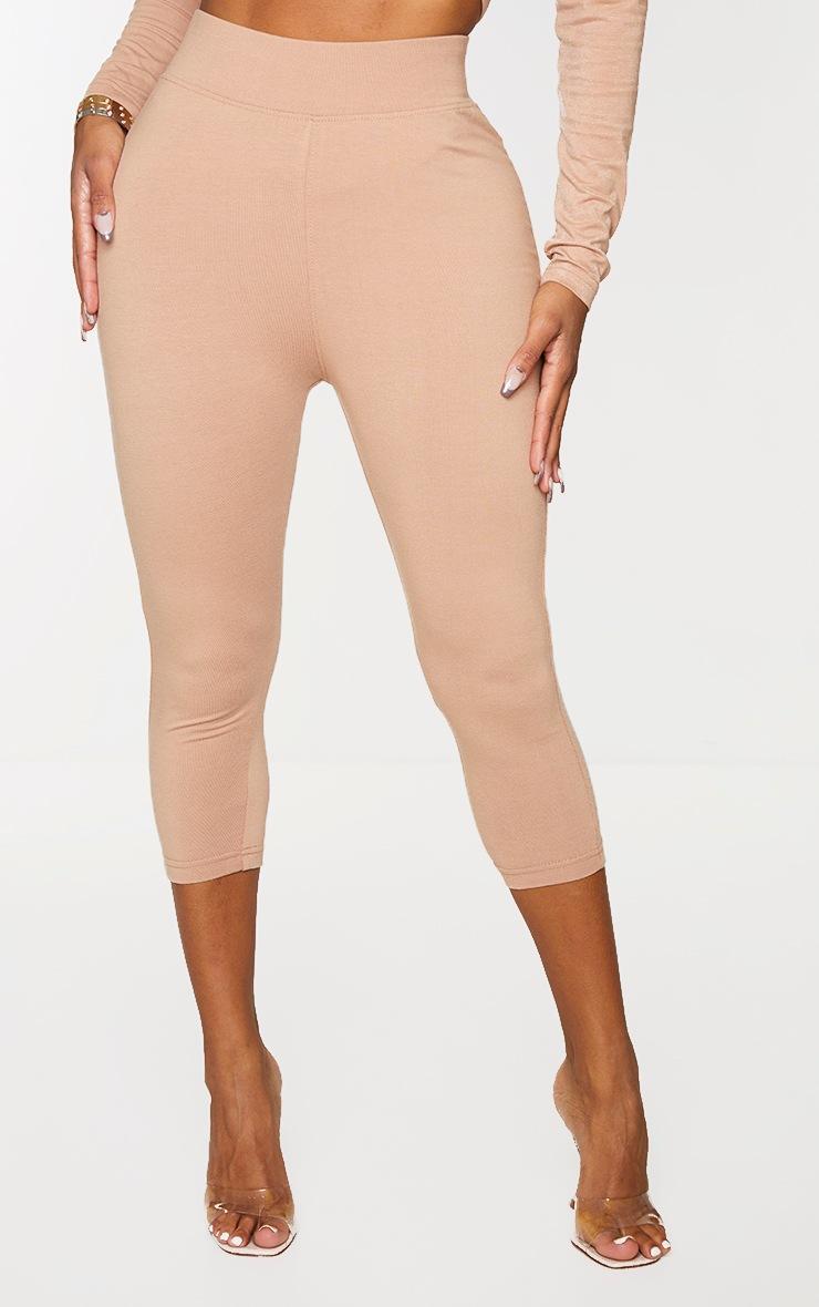 Shape Mocha Cotton Cropped Leggings 2