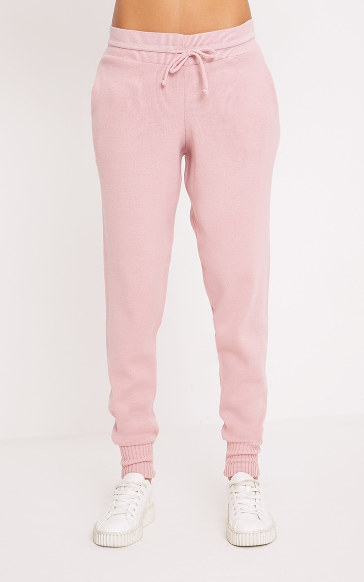 Auriel Pink Jogger Jumper Knitted Lounge Set 6