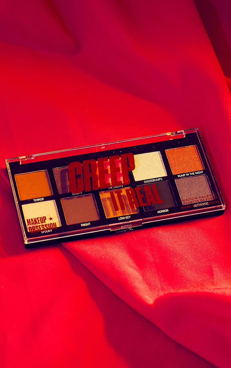 Makeup Obsession - Palette de fards à paupières spécial Halloween - Creep It Real 3