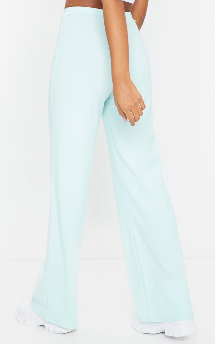 Mint High Waisted Wide Leg Pants 3