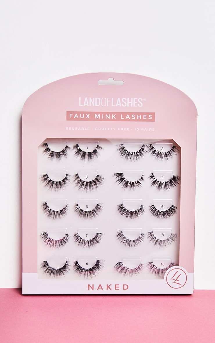 Land of Lashes Naked Lash Collection 10 Pairs 1